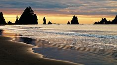 Shi Shi Beach, Olympic Peninsula, Washington.
