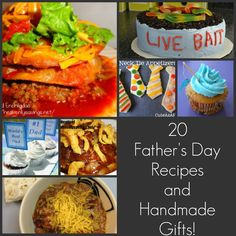 20 Fathers Day Recipes and Handmade Gifts!