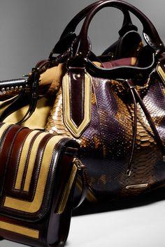 Burberry Autumn/Winter 2012 accessories handbag