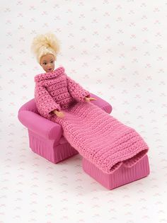 Barbie Snuggie - crochet free pattern