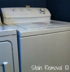 We paid cash for a new (to us) washing machine! She's a beauty, isn't she?
