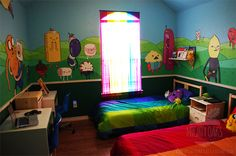Adventure Time's dream room.