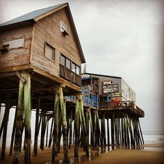 Old Orchard Beach Maine This venerable shore town wins the easy-rider award because the Amtrak Downeaster train platform is a two-minute walk from the beach.