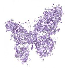 Cloud Nine Butterfly Print $29.00