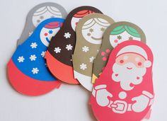 MATRYOSHKA card