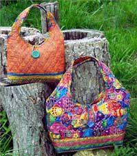 Loop Bag - Rotary Cut Border Bag Pattern