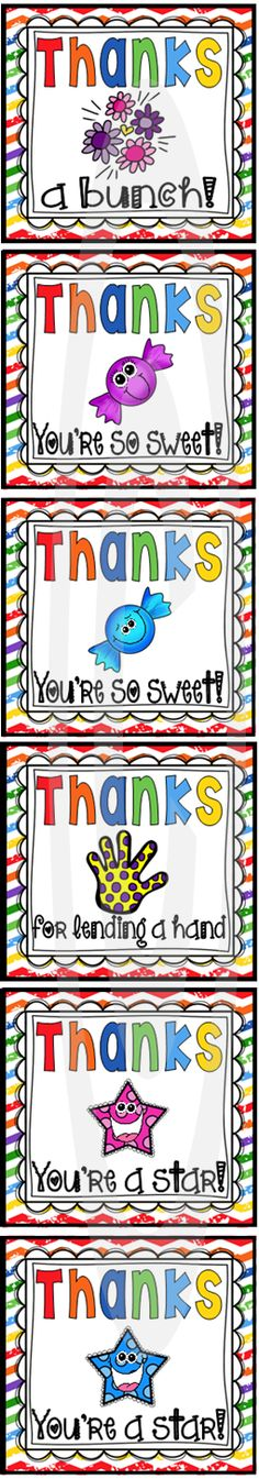 Such a simple and cute way to thank a classroom helper. These FREE gift tags/cards have editable text fields. Click here to see the sweet wording.