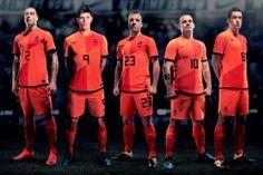 The ORANGE Dutch football machine.
