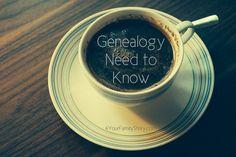 8 #Genealogy Things You Need to Know Today, Saturday, 31 May 2014, via 4YourFamilyStory.com. #needtoknow #familytree