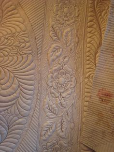 Leather tooling pattern
