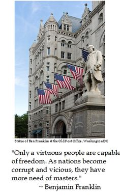Benjamin Franklin on #Freedom #quotes #teaparty