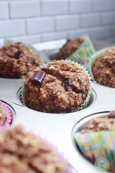 Pumpkin Baked Oatmeal Muffins.