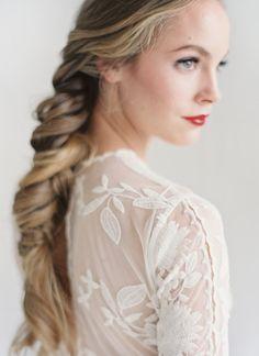pretty hair & dress