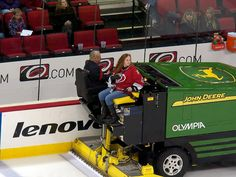 Take a ride on the Zamboni