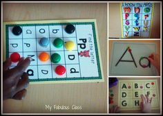 This site has a lot of great ideas for introducing a Word Work center in Kindergarten.