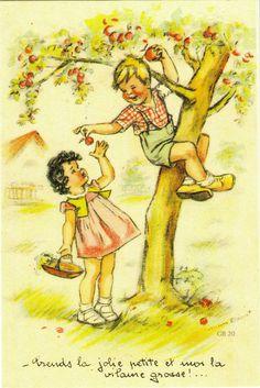 Prends la jolie petite, et moi la vilaine grosse... Germaine Bourret