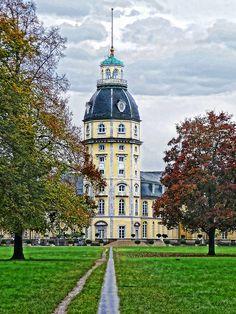 Karlsruhe Schloss, Baden-Württemberg, Germany