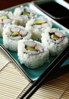 Sushi and sushi rice