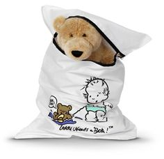 Special bag for washing loveys and stuffed animals