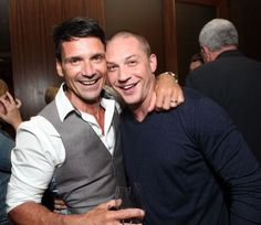 Tom with Frank Grillo