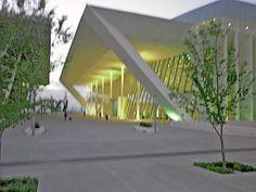 Centro de Congresos en la ciudad de Santiago de Querétaro.