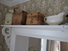 Over door shelf - for cookbooks?