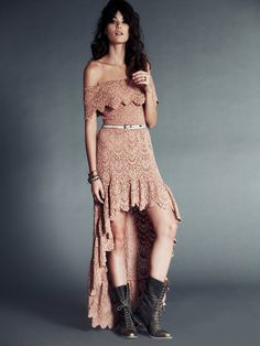 Nightcap Flourish of Lace Maxi at Free People Clothing Boutique. GORGEOUS!