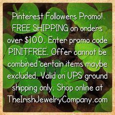 Shop Irish at http://www.TheIrishJewelryCompany.com