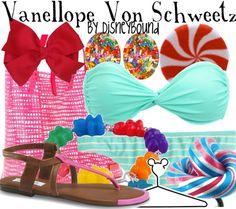 Vanellope Von Schweetz by disneybound