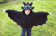 Thoothless Costume