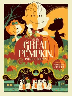 It's the Great Pumpkin, Charlie Brown - by Tom Whalen