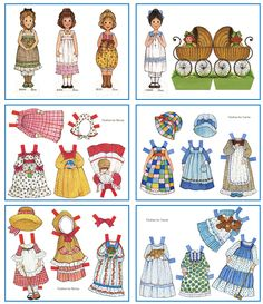 Paper Dolls - recently printed these out and made them for a friends 5 year old daughter and she loved it! Good to see after all these years these 'toys' are as much for them as it was for me