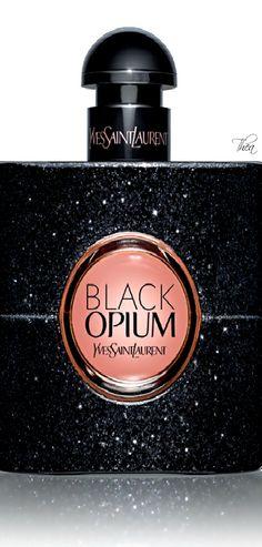 """Yves Saint Laurent ● """"Black Opium"""" fragrance"""