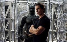 Christian Bale. He's Batman!