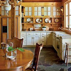 Classic Farmhouse Kitchen - Kitchen Inspiration - Southern Living