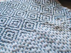 Japanese Needlework, Sashiko.