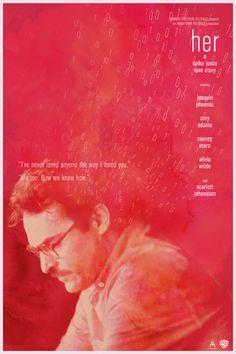 Her #Movie #Poster #MoviePoster