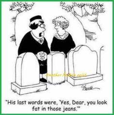 His last words...