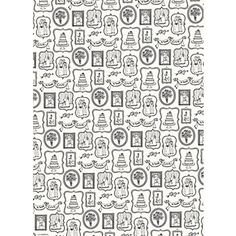 Wedding Sketches Wrapping Paper