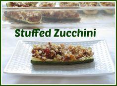 Easy & elegant - Stuffed Zucchini