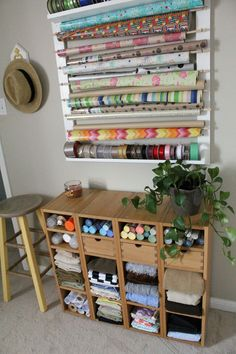 Closet & Craft Room Organization