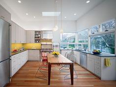 Gorgeous white Mission District kitchen