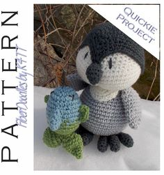 ~ Crocheted as directed with H hook, models which have been produced are approximately 10 inches tall. However, depending on your crochet style, this measurement may/will vary. ~