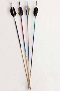 handmade arrows by fredericks & mae. sold at adventure store for $90