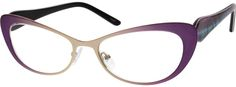 1455 Stainless Steel Full-Rim Frame With Acetate Temples