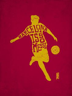 Barcelona is so Messi by Kevin Zwirble, via Behance
