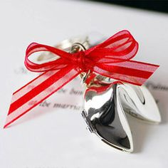 Fortune Cookie Key Chain Favors