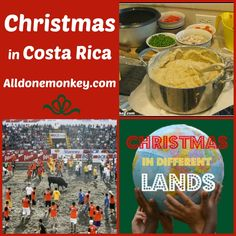 Christmas in Costa Rica {Christmas in Different Lands} - Alldonemonkey.com