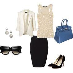 Cute business attire...