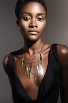 Model: Kimberlyn Parris Makeup: REBECCA CASCIANO Jewelry: Tasha West Designer: Ashaka Givens jewelri model